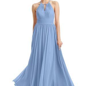 Azazie Dusty Blue Cherish Formal Bridesmaids dress